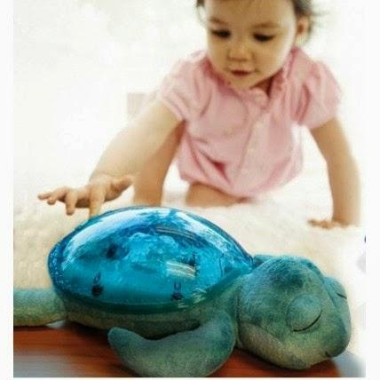 Lámpara infantil nocturna tortuga