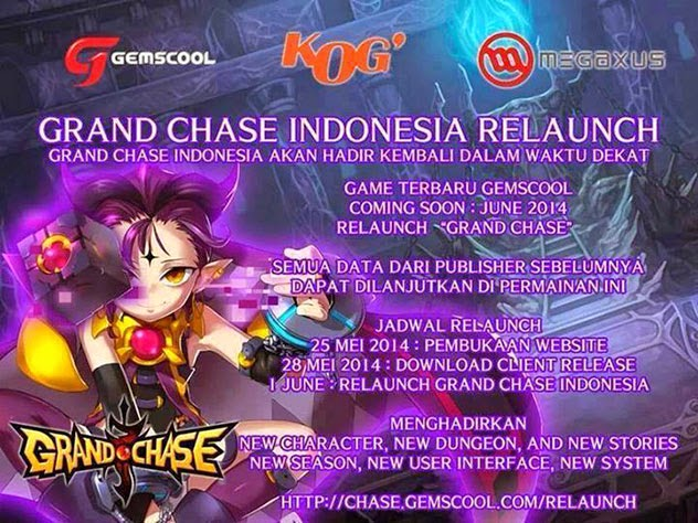 Rumor Grand Chase Indonesia Re-Launch Ternyata Hoax !