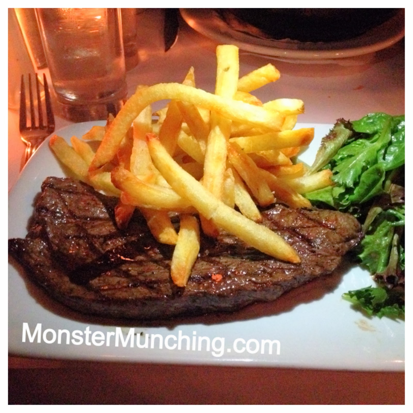 Monster Munching: Les Halles - Manhattan, New York