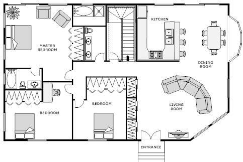 Foundation dezin decor home office layouts Online building plan