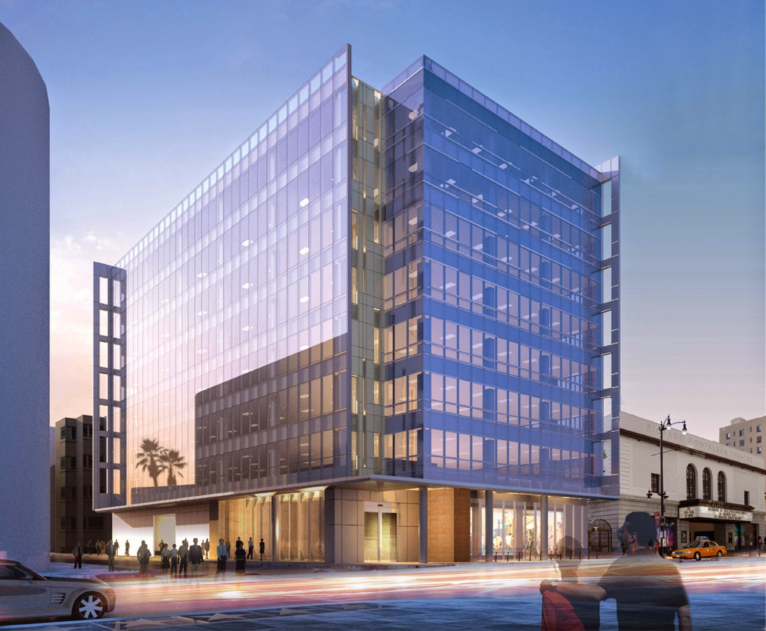 Building Los Angeles Mid Rise Office Breaks