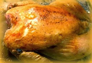 Pollo relleno a la catalana