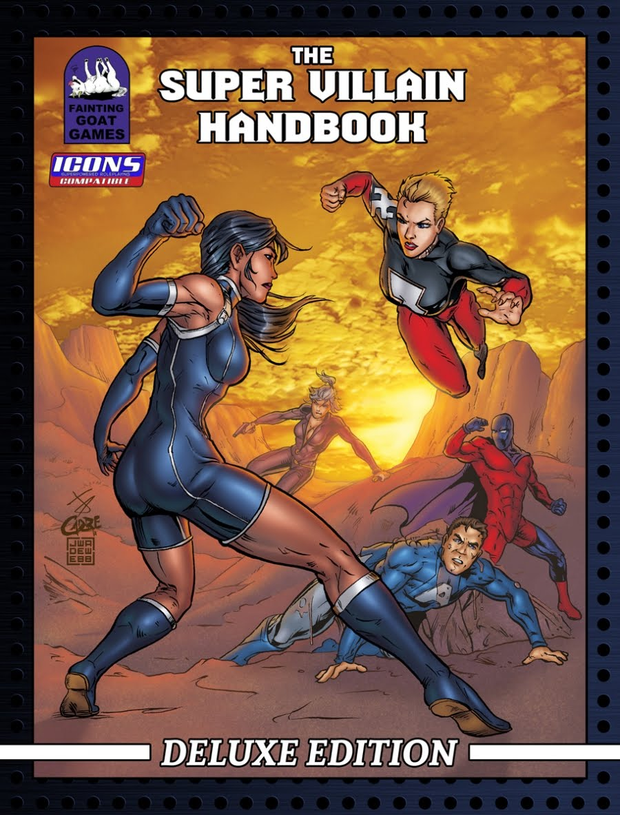 The Super Villain Handbook Deluxe Edition