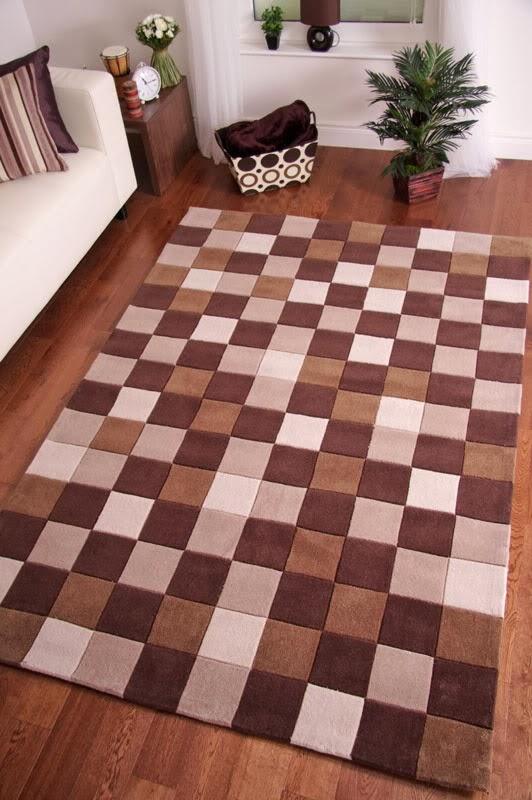 Alfombra patchwork.