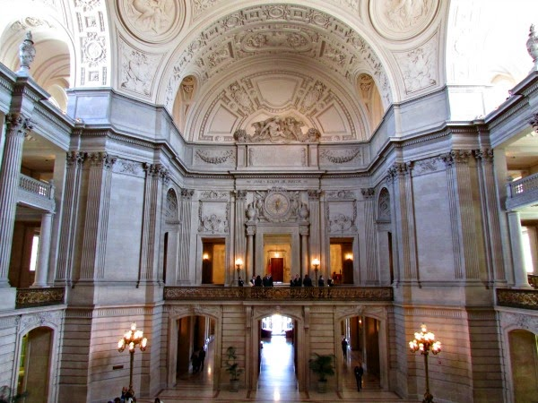 San Francisco City Hall // View from the Rotunda Stairs