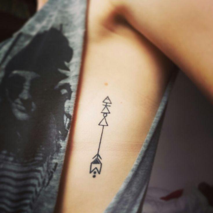 Tatuagens Pequena na Costela flexas
