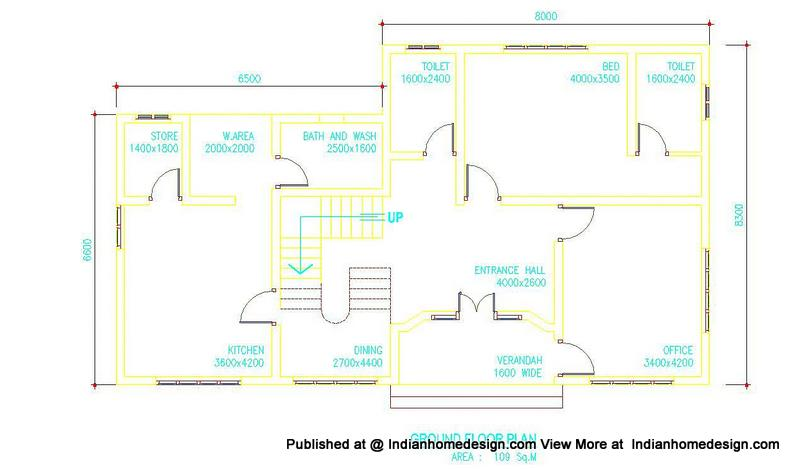house plans in kerala. house designs and floor plans