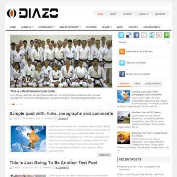 Diazo blog template. template image slider blog. magazine blogger template style. wordpress theme to blogger. template blog 3 column footer