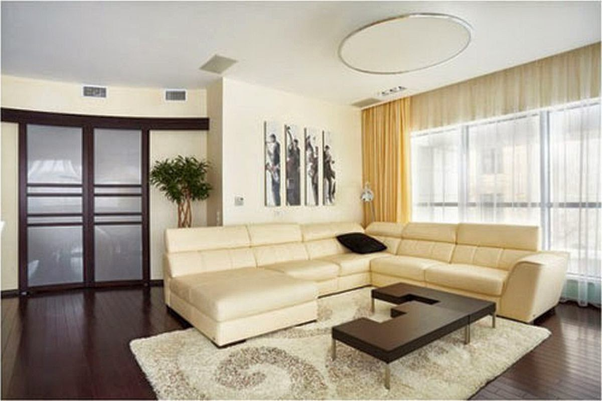 Simple living room decorating ideas for Simple living homes