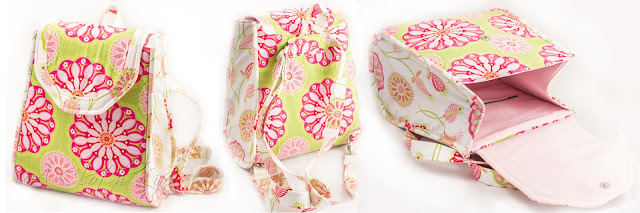 A Cloth Life: Sew Sweetness Promise Ring Backpack