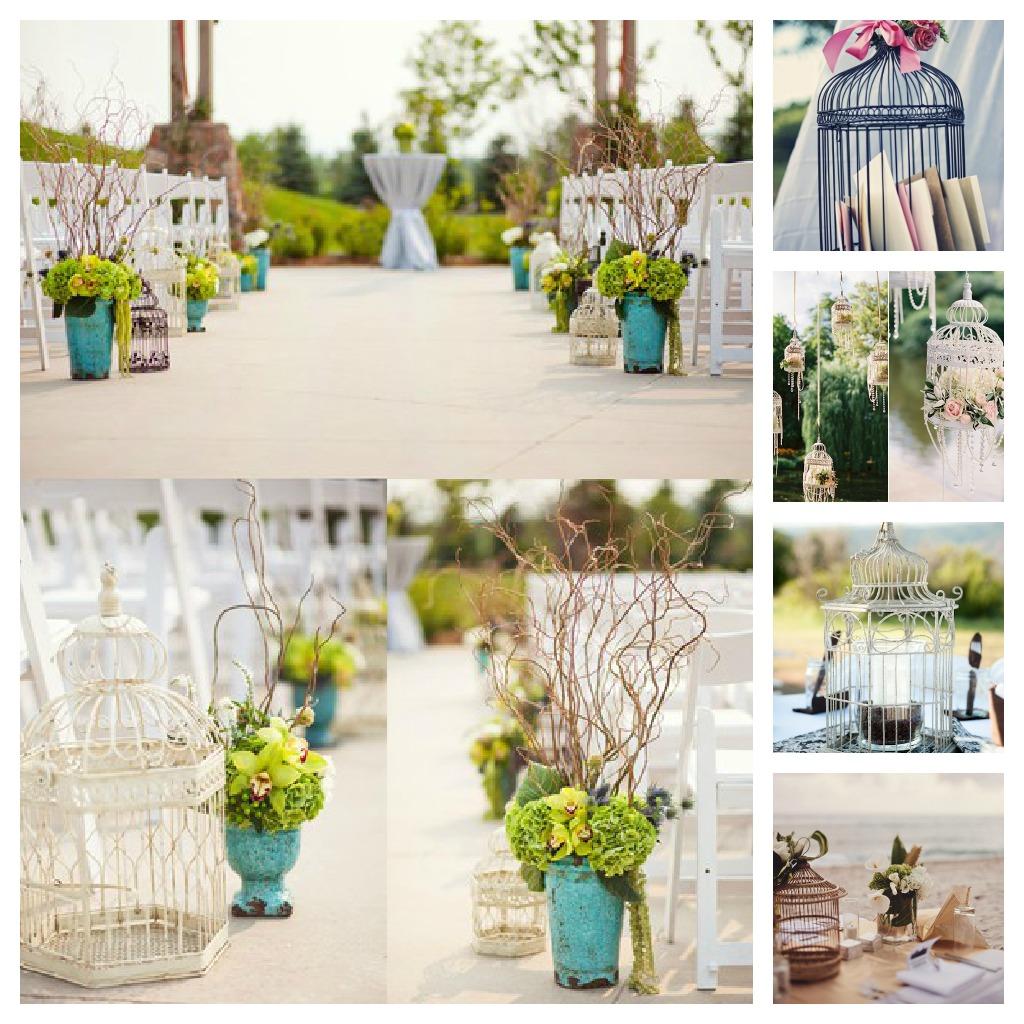 Jaulas Para Decoracion Vintage ~ QUIERO UNA BODA PERFECTA Tutorial ?Jaulas vintage para tu boda!
