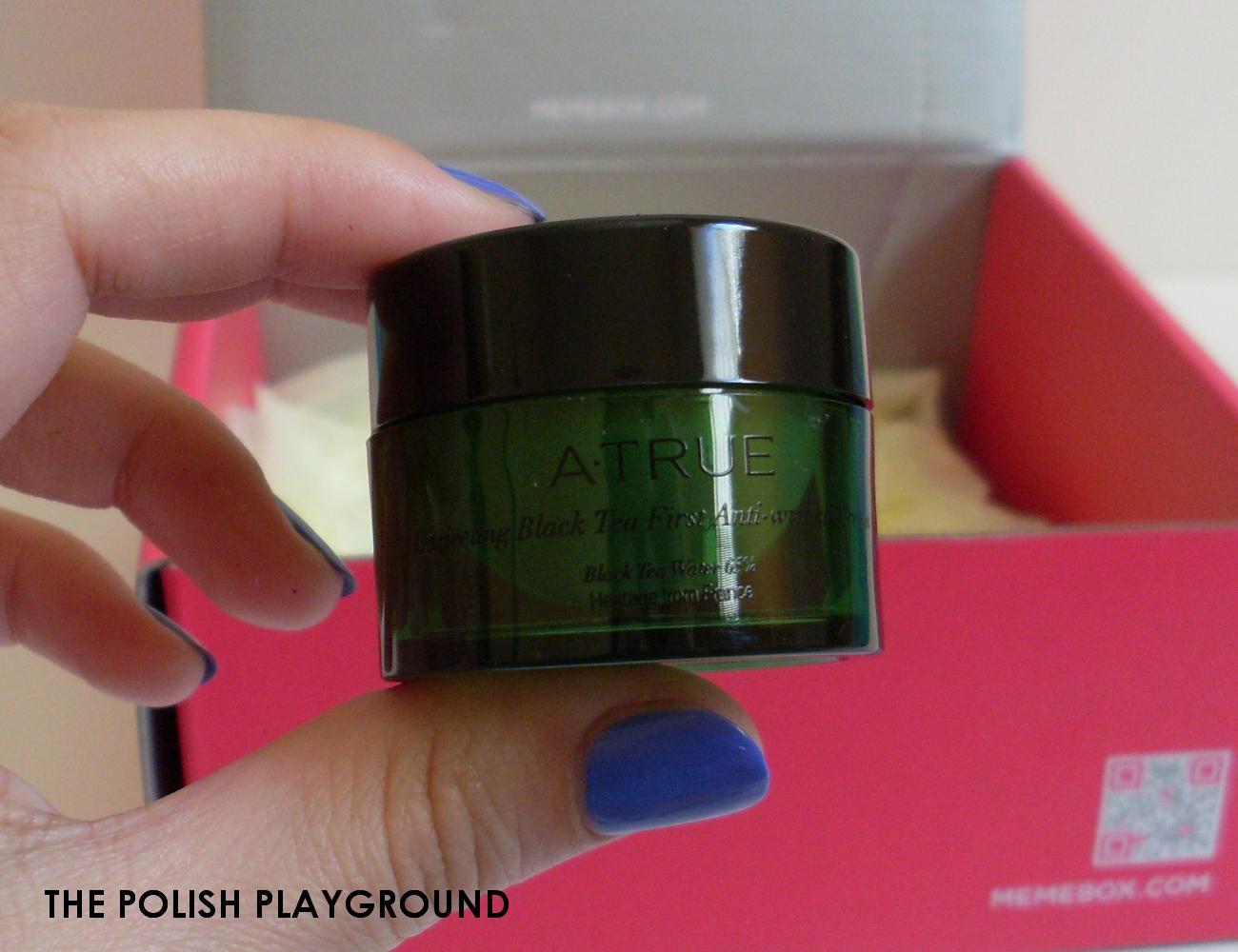 Memebox Minibox #3 Unboxing - A. True Dargeeling First Anti-Wrinkle Cream