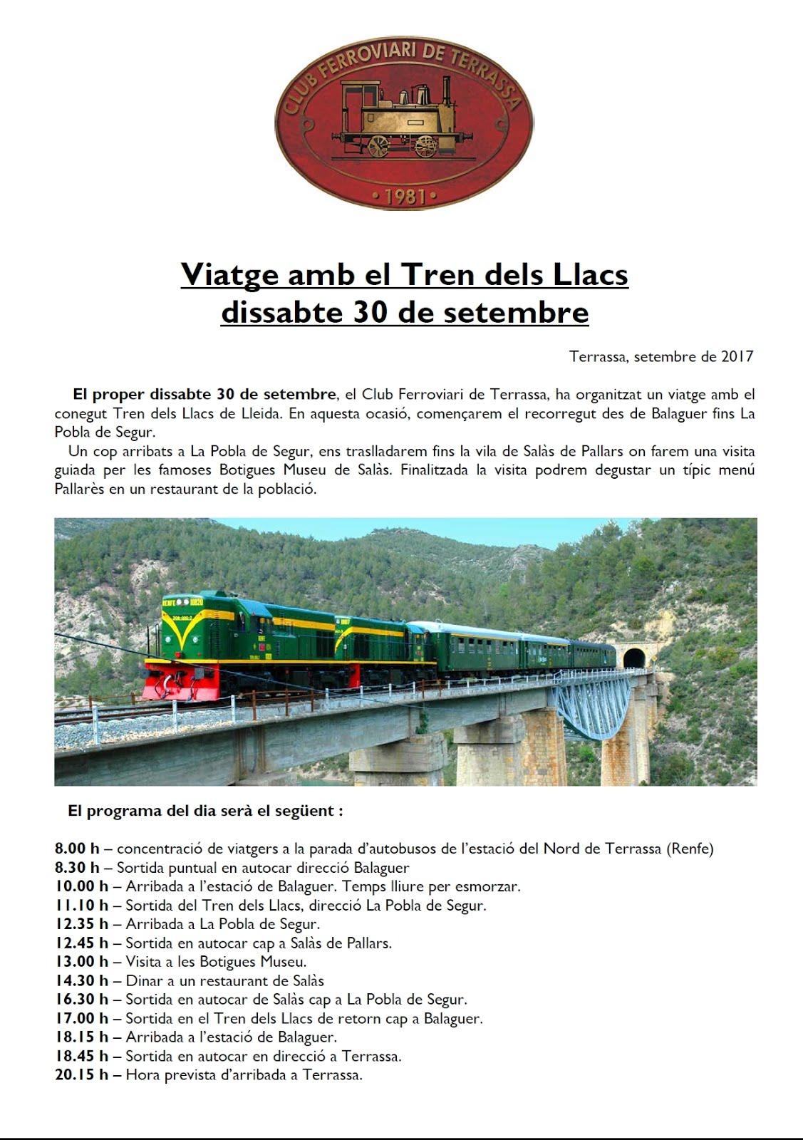 Tren del Llacs 2017 - A