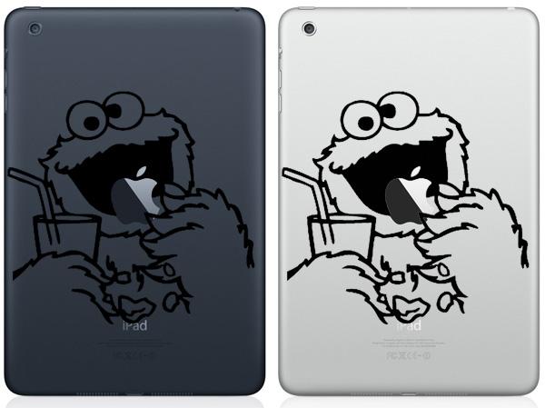 Cookie Monster iPad Mini Decals