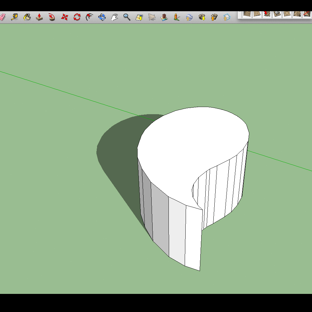 Phillip Rubery Digital Design 2012 Sketchup 3d Model