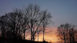 Ontario January Sky