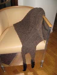 Min sjal med minksvansar