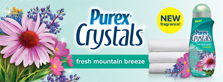 purex crystals fresh mountain breeze laundry freshener