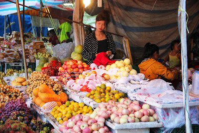 The market of Pakse