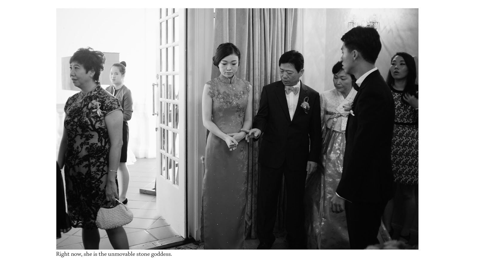 wedding photography singapore raffles bride father