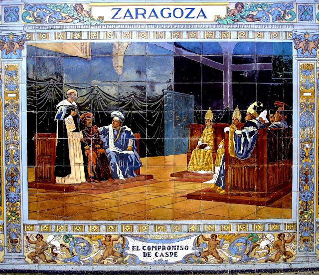 Otra historia de espa a el compromiso de caspe a o 1412 for El rey de los azulejos