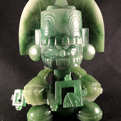 San Diego Comic-Con 2012 Exclusive Jade Mictlan Resin Figure by Jesse Hernandez