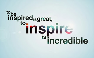 Inspiration is to inspire others