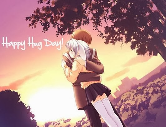 Happy hug day 2014 greetings
