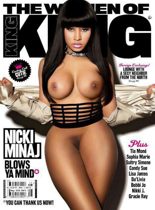 Nicki Minaj Naked Magazine