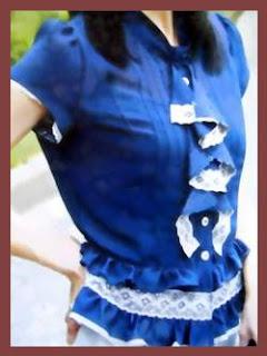 pakaian model blus