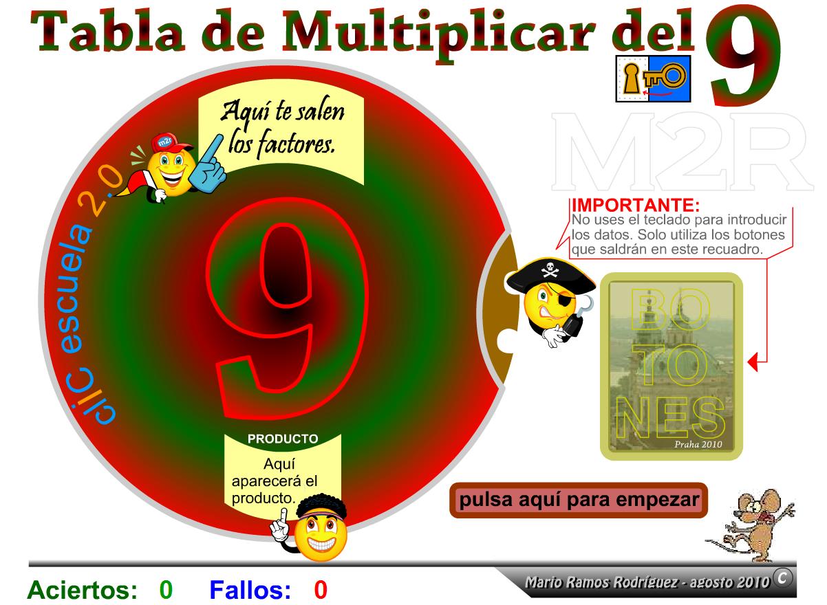 http://www2.gobiernodecanarias.org/educacion/17/WebC/eltanque/tablasnuevas/tabladel9pa_p.html
