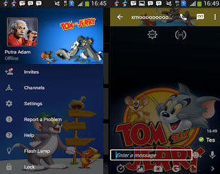 BBM Mod Tema Tom and Jerry v2.10.0.35 Apk