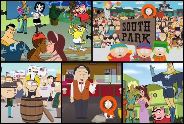South-Park-La-Casa-de-los-Dibujos-The-Michael-J-Fox-Show-Diviértete-casa-especial-Volver-Futuro-HOY-Colombia-Comedy-Central