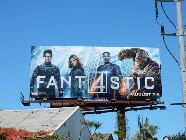 Fantastic 4 movie 2015 billboard