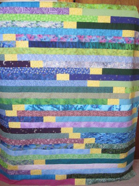 Quilts + Color: Another Potato Chip Quilt! : potato chip quilt pattern - Adamdwight.com
