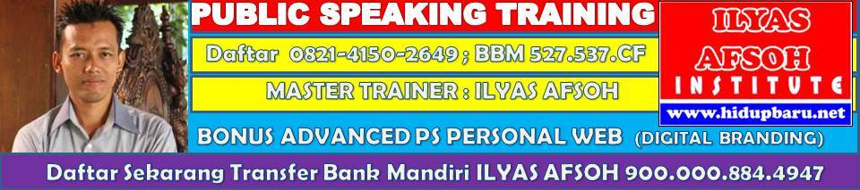 Public Speaking di Jogja 0821.4150.2649
