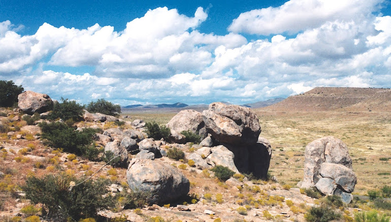 Montana Azul - City of Rocks - New Mexico