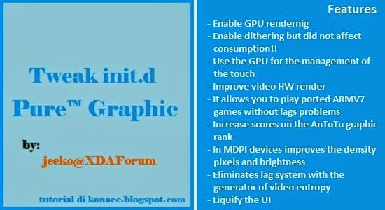 Tutorial Install Tweak Pure™ Graphic HD dari XDA
