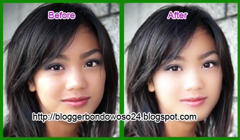 Cara Menghaluskan dan Memutihkan Kulit Wajah Dengan Photoshop
