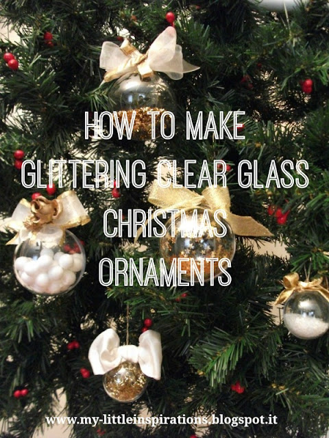 How to decorate clear glass ball ornaments 1