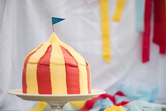 Circus Cake Tutorial & Strawberry Chic: Circus Cake Tutorial