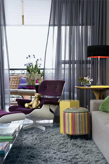 decoracao de sala humilde : decoracao de sala humilde:Blog Estilo & Décor: Inspirações em tons de cinza
