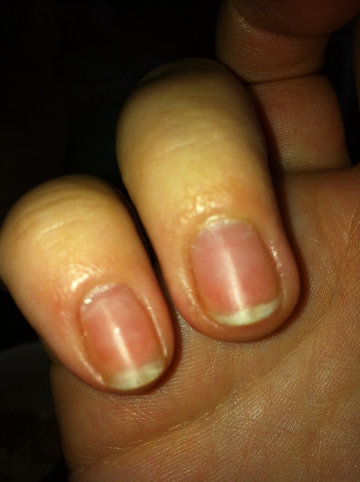 how to tell if nail polish is off