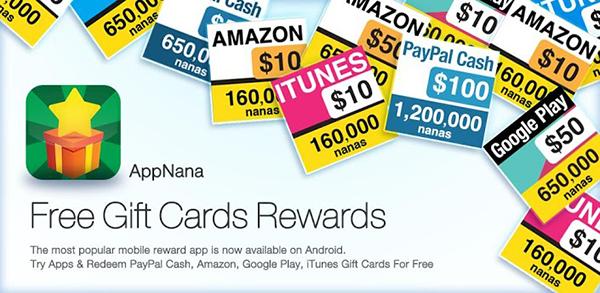تطبيق لربح المال وتحويله الى بطاقات جوجل بلاي  و ايتونز ورصيد باي بال وامازون