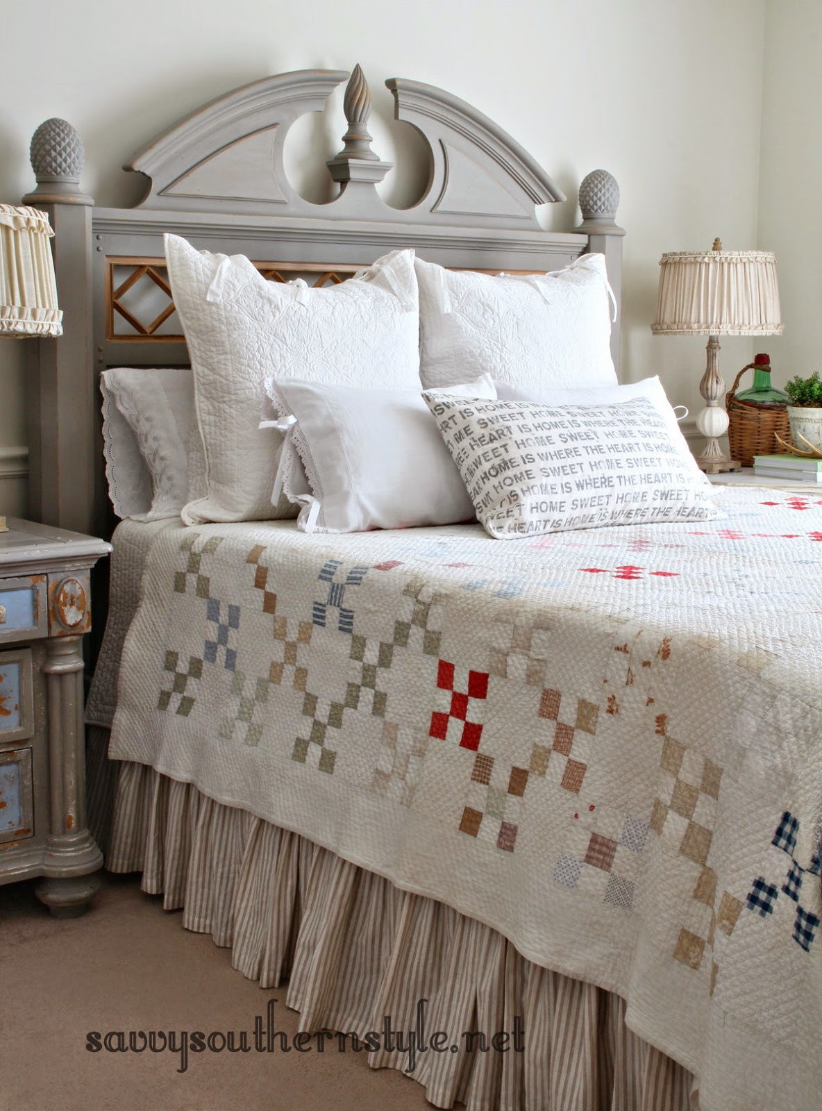 Getting A New Bed savvy southern style: old bed new look