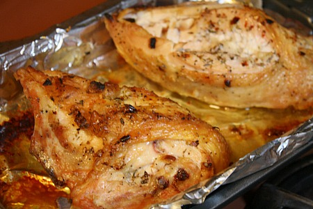 Garlic-Roasted Chicken Breasts | I Was Born To Cook