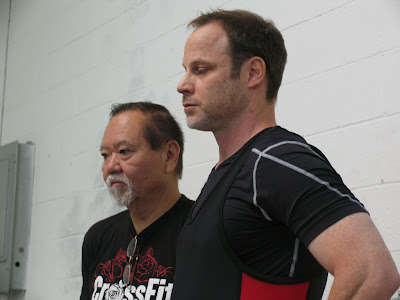 Bob Takano coaches weightlifting