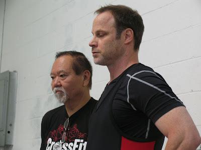 Bob Takano coaches weightlifting