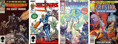 Marvel Comics' Starriors - Sectaurs - Visionaries - Crystar