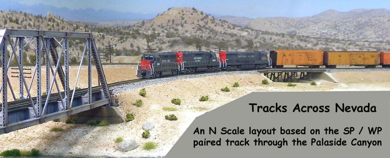 Tracks across Nevada